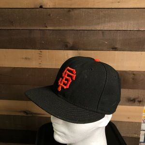New Era MLB SF Giants Fitted Hat 7 1/4
